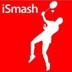 Badminton iSmash Silhouette