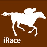 Horse Racing iRace Brown Silhouette