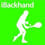 Tennis iBackhand Silhouette