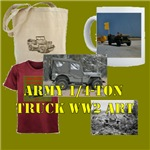 Army 1/4-Ton Truck Art