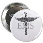 Ems paramedic buttons & magnets grayscale & color