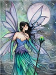 Cry of the Wind Fairy Fantasy Art
