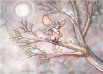 Tree of Stars Fairy Fantasy Art