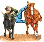 Bull Doggin, Steer Wrestling