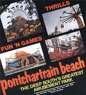 Pontchartrain Beach Advertisement