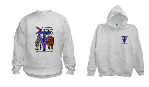 Sweatshirts - MANY designs, hooded or not!