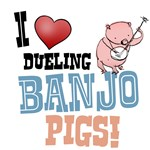 Dueling Banjo Pigs