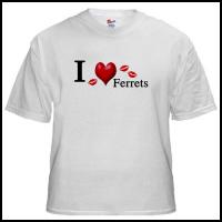 I Love Ferrets Tees