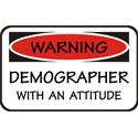 Demographer T-shirt, Demographer T-shirts