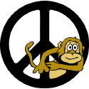 Monkey Peace T-shirt & Gift