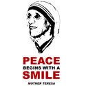 Mother Teresa T-shirt & Gift