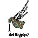 Bagpipe T-shirt, Bagpipe T-shirts