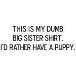 Dumb Big Sister Shirt