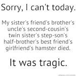 Tragic Hamster