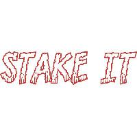 Stake It * knock ball close to hole