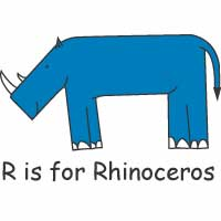 R is for Rhino