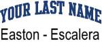 Blue Surname Design Easton - Escalera