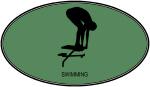 Swimming (euro-green)