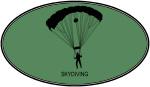 Skydiving (euro-green)