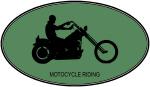 Motocycle Riding (euro-green)
