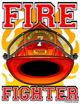 Fire Fighters Helmet Red