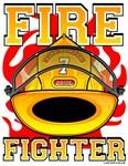 Fire Fighters Helmet Yellow