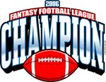 2006 FFL Fantasy Football League Champion