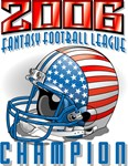 2006 FFL Champion Helmet