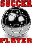 Soccer Player Soccer Ball