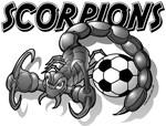 Scorpions Soccer (Black)