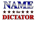 NAME for dictator