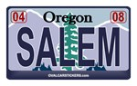 Oregon Plate - SALEM