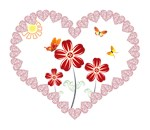 Girly stuff-Hearts and flowers