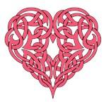 CELTIC HEART-PINK