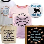 Play With Your Dog Tee Shirts, Tank Tops, Posters