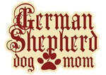 German Shepherd Dog Mom