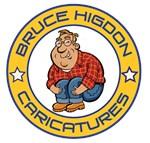 Bruce Higdon Caricatures