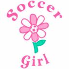 Soccer Girl Flower