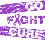 Fibromyalgia Go Fight Cure Shirts