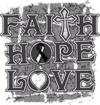 Carcinoid Cancer Faith Hope Love Shirts