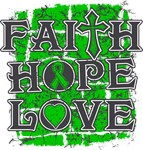 Bile Duct Cancer Faith Hope Love Shirts