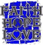 Anal Cancer Faith Hope Love Shirts
