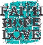 PCOS Faith Hope Love Shirts