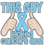 Prostate Cancer This Guy Kicked Cancer Shirts