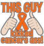 Skin Cancer This Guy Kicked Cancer Shirts