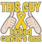 Neuroblastoma This Guy Kicked Cancer Shirts