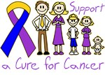 Bladder Cancer Support A Cure Shirts