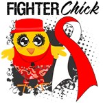 Oral Cancer Fighter Chick Shirts
