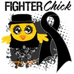 Melanoma Fighter Chick Shirts