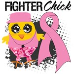 Breast Cancer Fighter Chick Shirts